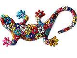 Figura Salamdra Flores en Mosaico de la Colección Trencadis Antonio Gaudí. Figura Mosaico. Figura...