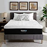 Classic Brands Cool Gel Ice Memory Foam 14-Inch Mattress with 2 BONUS Pillows | CertiPUR-US Certified | Bed-in-a-Box, California King