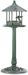 metal free standing bird feeders