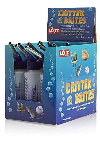 Lixit Corporation Slx0534 12-Pack Critter Brites Petit Animal Bouteille d'eau, 113,4 Gram, DE Jour Glow
