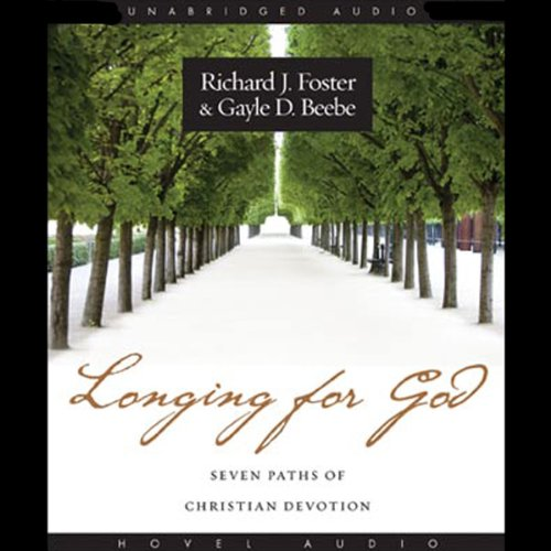 Longing for God audiobook cover art