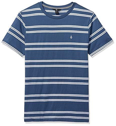 Volcom T-Shirt Beauville Crew Bleu S (Small)