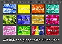 mit den energieportalen durchs jahr (Tischkalender 2022 DIN A5 quer): 12 Energieportale nach MatrixInform(r) kuenstlerisch umgesetzt (Monatskalender, 14 Seiten )