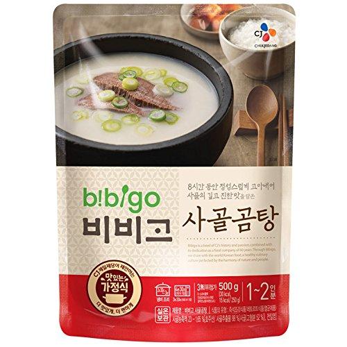 Korean Bibigo Pre-made Packaged Tofu Kimchi/Soybean Paste Stew 16oz (Beef Stock Soup, 3 Pack)