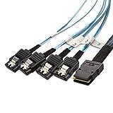 Cable Matters Cavo Interno Mini SAS a SATA (SFF-8087 a SATA Forward Breakout) 1m...