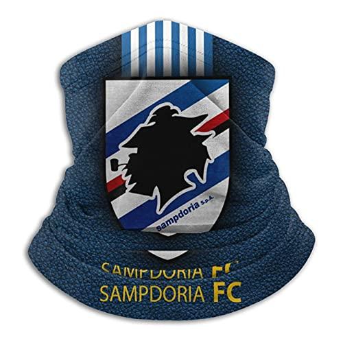 Samp-Dor-Ia Fc Fc - Bufanda de cuello cálido con turbante para el cuello, protección contra el viento, a prueba de polvo, pasamontañas