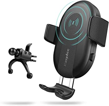 Easyacc Portable Qi Fast Inductive Wireless Car Charger Cradle