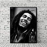 HNTHBZ Leinwand-Malerei Bob Marley Poster