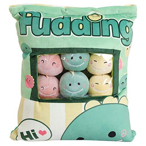 Creamon Super Doux Mignon Animal Oreiller Coussin avec 8 pcs Mini Poupées Jouets À L'intérieur Cadeau Unique pour Son Enfant 001#
