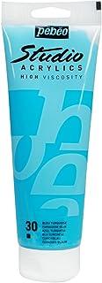 Pébéo 164030 Beaux-Arts Studio Acrylique 1 Tube Bleu Turquoise 250 ml