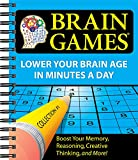 Brain Games #1: Lower Your Brain Age in Minutes a Day (Volume 1)