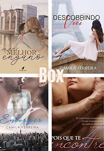 Camila Ferreira - BOX Romance : Os mais aclamados romances completos em um único ebook: Depois que te encontrei; Descobrindo Você; Meu Melhor Engano; Emergir.