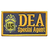 US DEA Special Agent Federal Touch Fastener Patch Drug Enforcement FBI Marshal Dept Justice
