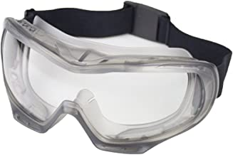 Sellstrom Comfortable, Indirect Vent, Industrial Protective Safety Goggle, Anti-Fog Coating, Clear Lens, Black FR Head Band, S82000
