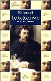 LE BATEAU IVRE ET AUTRES POEMES - J'ai lu - 04/11/1992