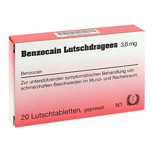 Benzocain Lutschdragees 3 20 stk