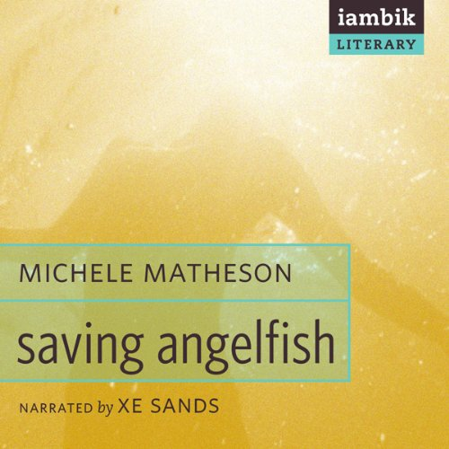Saving Angelfish audiobook cover art