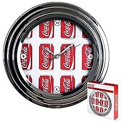Coca-Cola Chrome Clock, 12