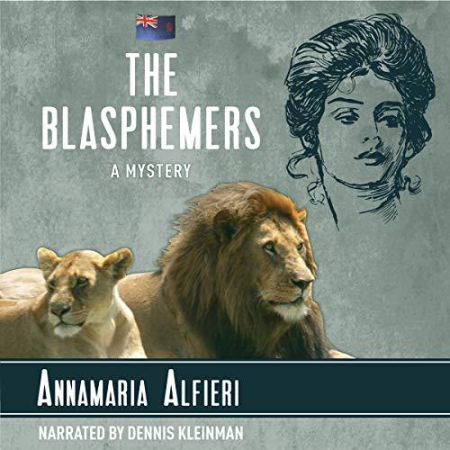 The Blasphemers audiobook cover art