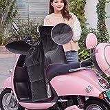 biteatey Cubierta para Pata de Motocicleta con Manillar, Cubierta Impermeable y Cortavientos para Invierno