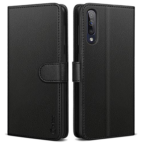 VakooWalletSerieHandyhüllefür Samsung Galaxy A50 Hülle, Samsung Galaxy A30s Hülle, Schwarz
