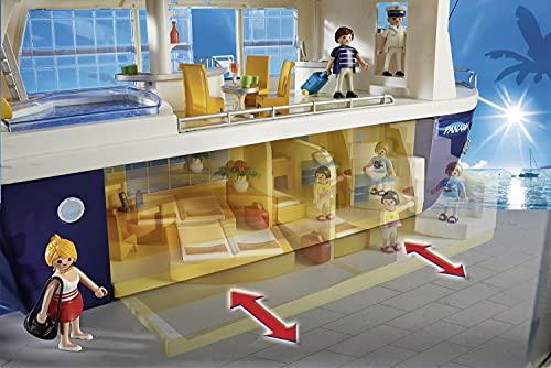 PLAYMOBIL Family Fun, 6978 Crucero, Incluye bote salvavidas flotante, A partir de 4 años