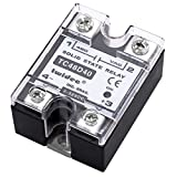 Twidec/Output Single Phase SSR Solid State Relay 40A 3-32V DC to 24-480V AC SSR-40DA