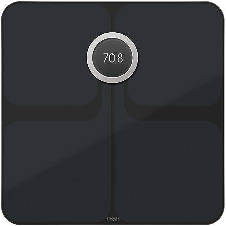 Fitbit フィットビット スマート体重計 Aria2 WiFi/Bluetooth対応 Black【日本正規品】 FB202BK-JP