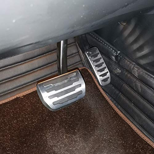 AutoBig Gas Brake Pedal Cover Set for Evoque Velar Discovery Sport Jaguar XE XF E-Pace F-Pace