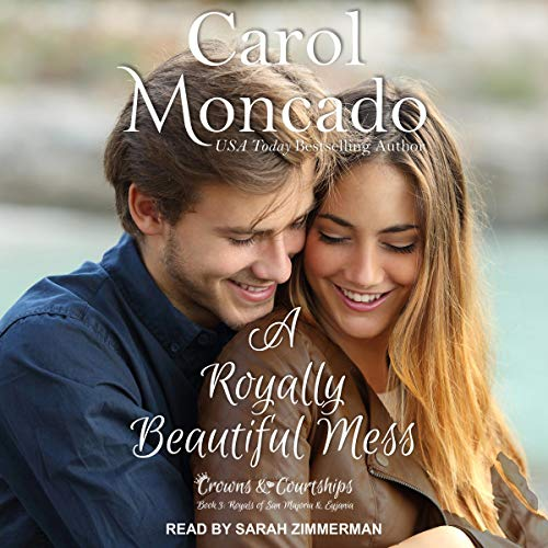 A Royally Beautiful Mess audiobook cover art