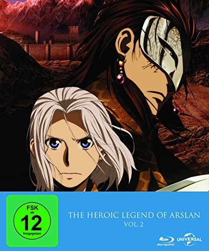 The Heroic Legend of Arslan Vol. 2/Episoden 14-25 [Blu-ray] [Limited Edition]