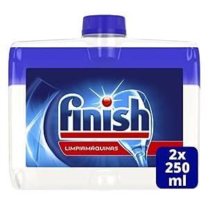 Finish Limpiamáquinas Líquido para lavavajillas – 2 unidades