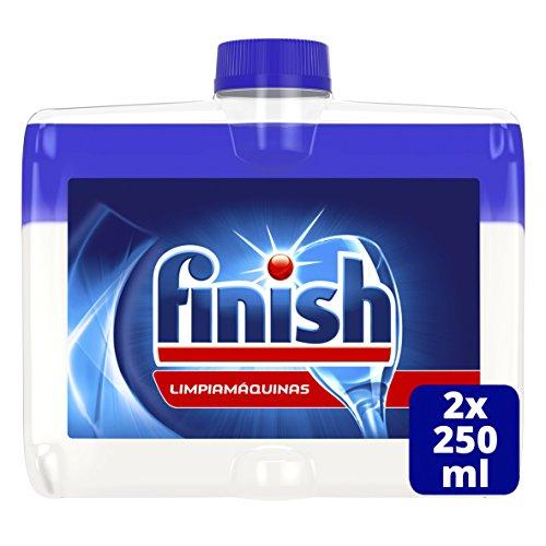limpiador de lavavajillas Finish Limpiamáquinas Líquido para Lavavajillas Regular Duplo - 2 x 250 ml