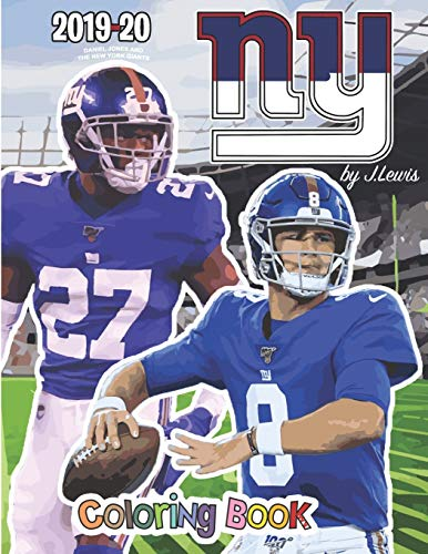 Daniel Jones and the New York Giants: The Football Coloring and Activity Book: 2019-2020 Season