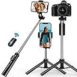 【2021最新版】 SanDony 自撮り棒 三脚 Bluetooth セルカ棒 リモコン付き 軽量 コンパクト 三脚/一脚兼用 360度回転 6段伸縮 無線 折りたたみ 持ち運び便利 iPhoneX iPhone8 iPhone7 iPhone/Android等スマホ カメラ対応
