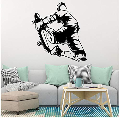 Wandaufkleber Diy Skateboard Selbstklebende Vinyl Wasserdicht Aufkleber Wohnzimmer Kinderzimmer Hintergrund Wandkunst 57 cm X 61 cm
