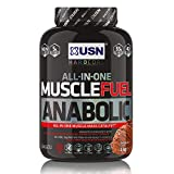 USN Muscle Fuel Anabolic All-In-One Muscle Builder Protein Shake, with Creatine and Whey Protein Chocolate 2 kg