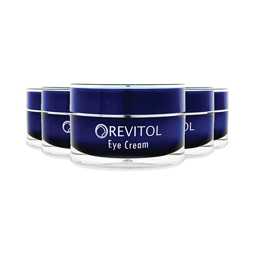 Revitol Eye Cream, Treatment for Tired Eyes and Dark Circles - 5 Pack
