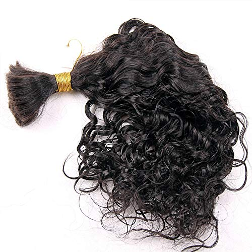 Bulk Very popular For Braiding Indian Remy Human piec Sale Curly Hair Loose 1