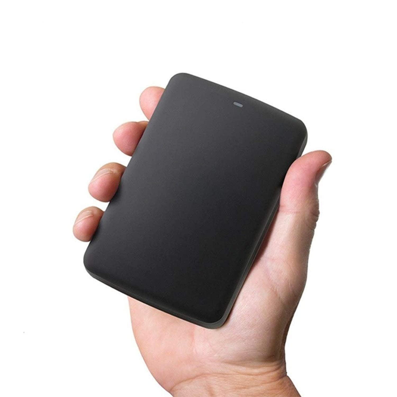 QTT USB3.0,1TB/2TB/3TB,Hard Disk, Mobile Portable,Memory Hard Disk,Computer External Hard Drive,Encryptable,Large Capacity Black (Size : 1TB)