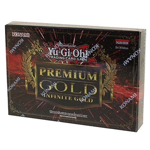 YuGiOh Premium Gold Infinite Gold Mini Box by Yu-Gi-Oh!
