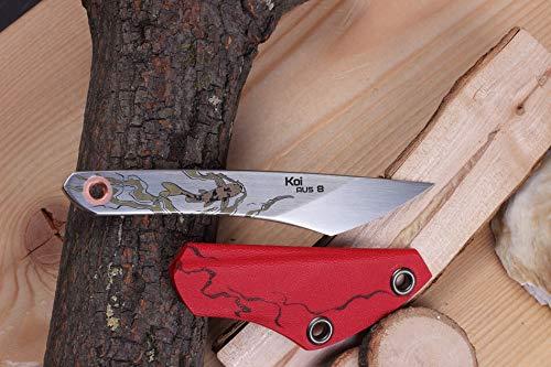 Russisches Taktisches Messer Kiridashi KOI Beadblast N.C. Customs