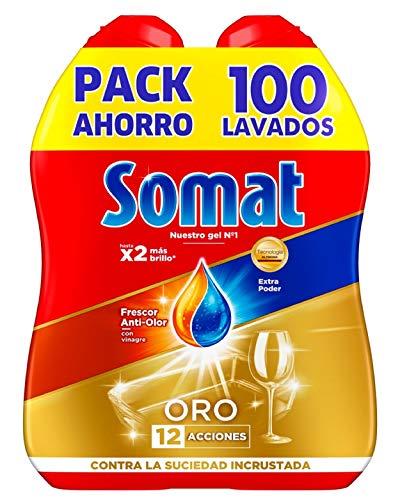 Somat Oro Gel Detergente Lavavajillas Vinagre