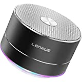 LENRUE Portable Wireless Bluetooth Speaker with Built-in-Mic,Handsfree Call,AUX Line,TF Card,HD Sound and Bass for iPhone Ipad Android Smartphone and More