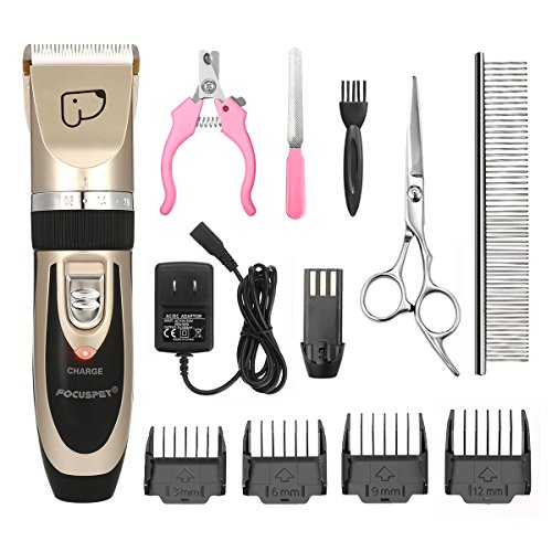 FOCUSPET Dog Grooming Clippers