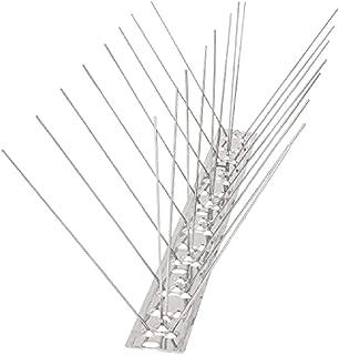 Coil.c - Juego de protectores antipalomas de acero inoxidable para paredes de vallas (50 cm, para mantener alejados a todos los pájaros), Ein, 1 unidad