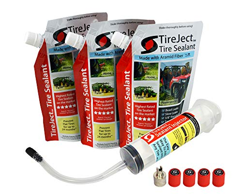 TireJect Off-Road Flat Tire Protection Kit with...