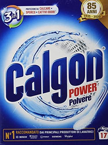 Set 14 CALGON E 2 poeder Gr 850 Astuc. (Calfort) schoonmaakmiddel en reiniging van huis.