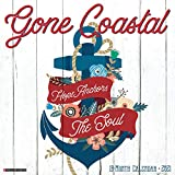 Gone Coastal 2021 Wall Calendar