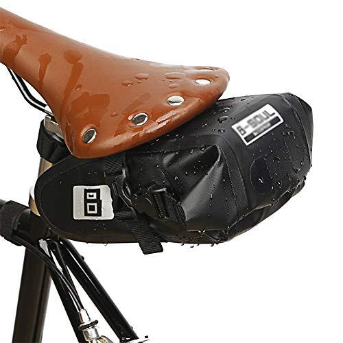 GJG Fahrradsitztasche, Fahrradsatteltasche, wasserdichte Fahrradsitztasche Rahmentasche Leichte Hecktasche Für MTB Rennrad Faltrad, Fahrradtasche Fahrradzubehör